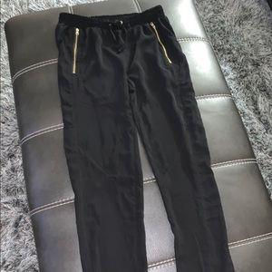 Black Jogger Style Pants